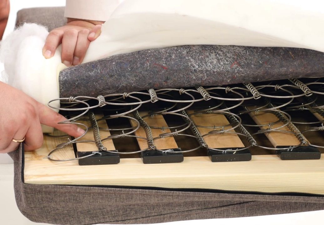 ремонт матраса с пружинным блоком