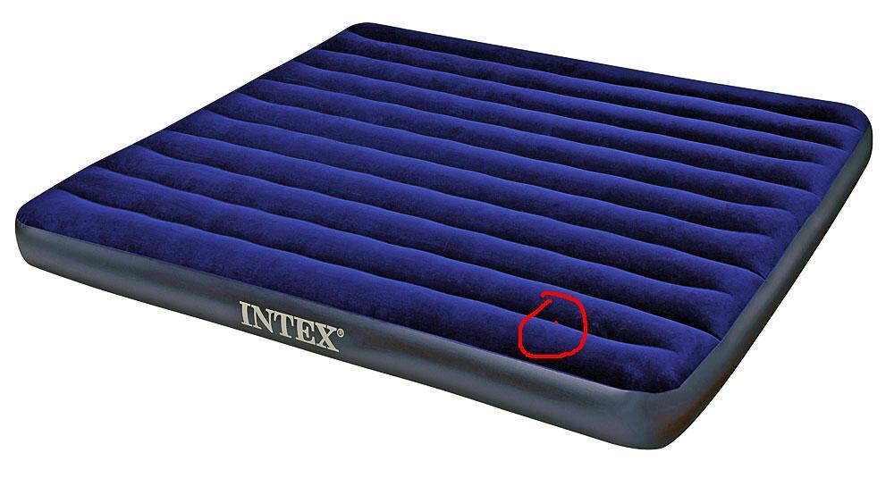 Как заклеить надувной матрас с велюровой стороны в домашних условиях