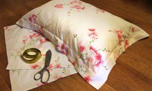 Как сшить наволочку на подушку пошагово