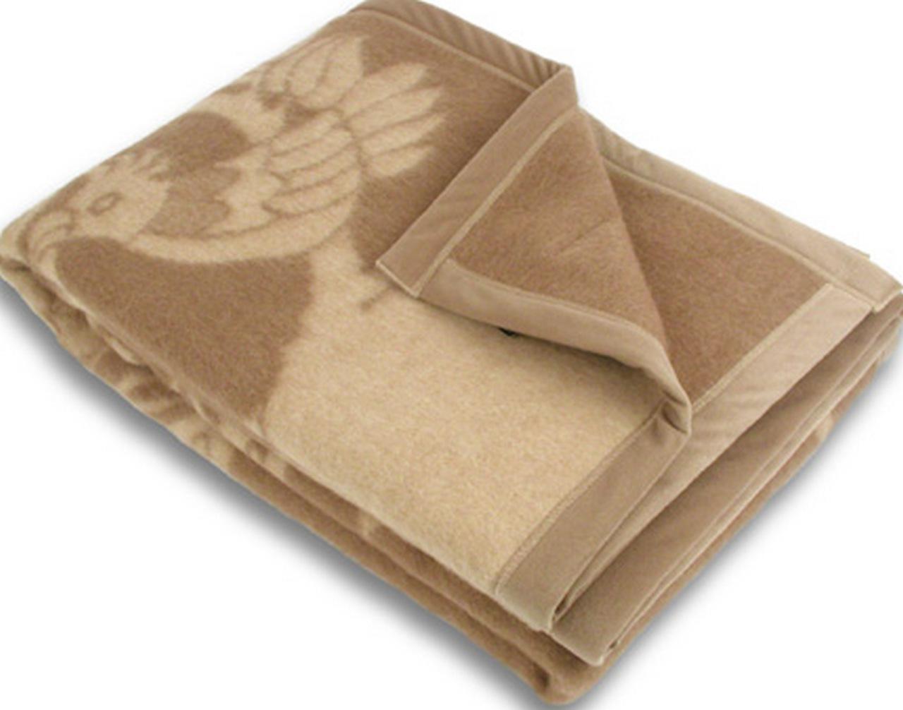 Одеяла с открытой верблюжьей шерстью
