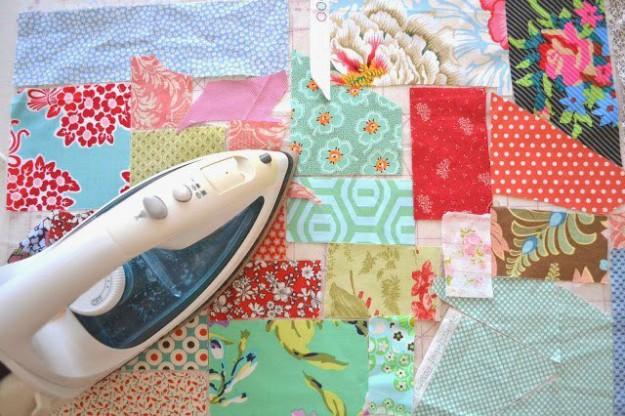 Лоскутки для одеяла