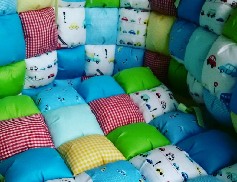 Детское одеяло бомбонами