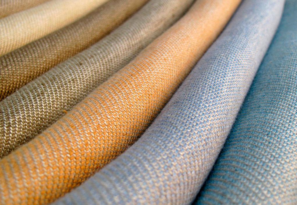 Постельное белье из ткани льна