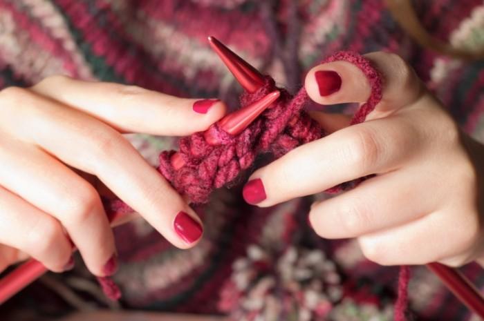 Вязание пледа для начинающих