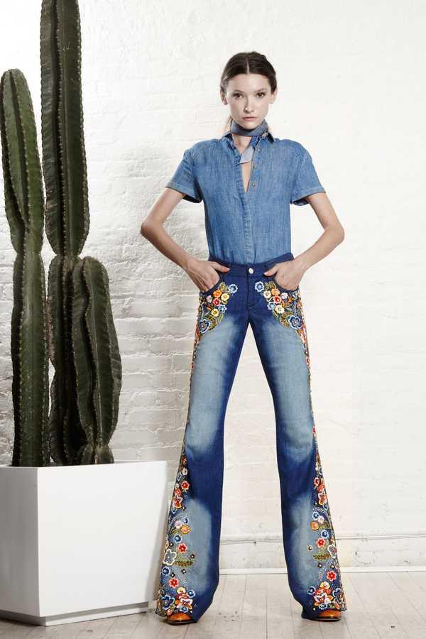 джинсовый стиль в одежде для женщин
