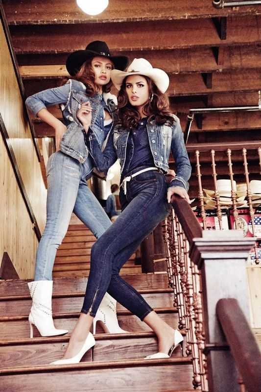 джинсовый стиль в одежде