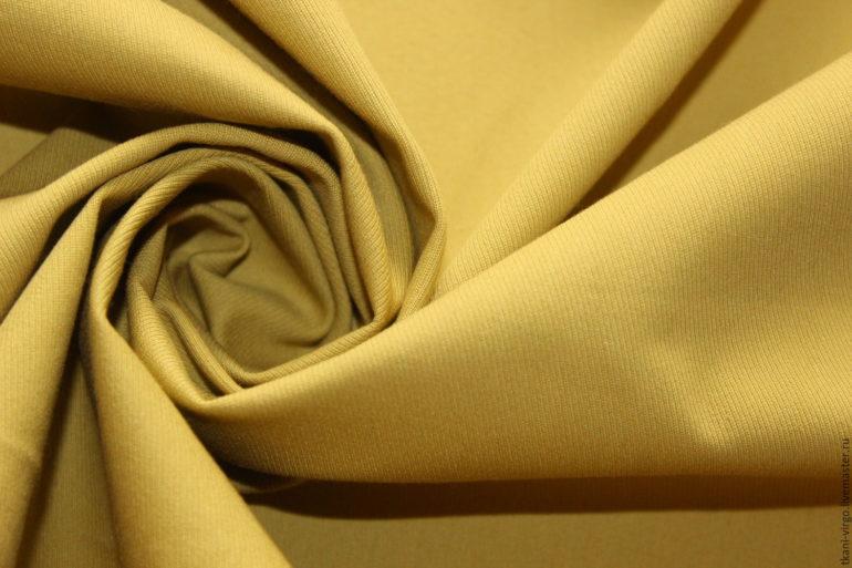 горчичный цвет ткани