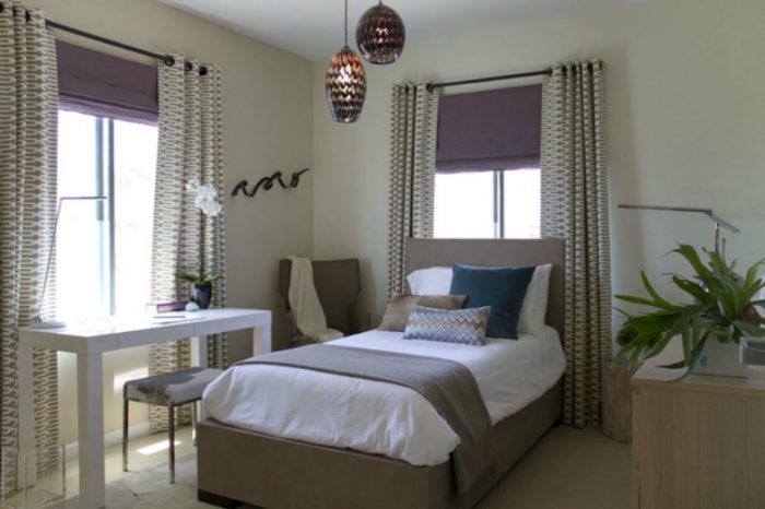 Уют и интим с помощью штор