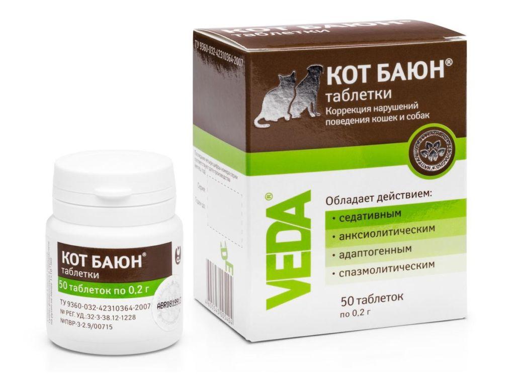Гомеопатический препарат кот баюн