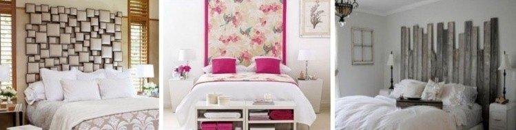 дизайн изголовья двуспальной кровати