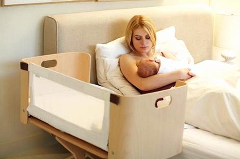 детская кроватка приставная к кровати