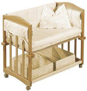 приставная кроватка с нижним ярусом