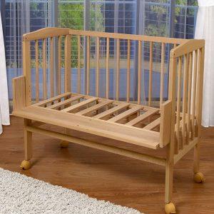 приставная кроватка на колесах