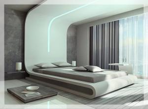 Фото кровати на подиуме