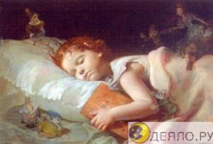 Сладкий сон под одеялом