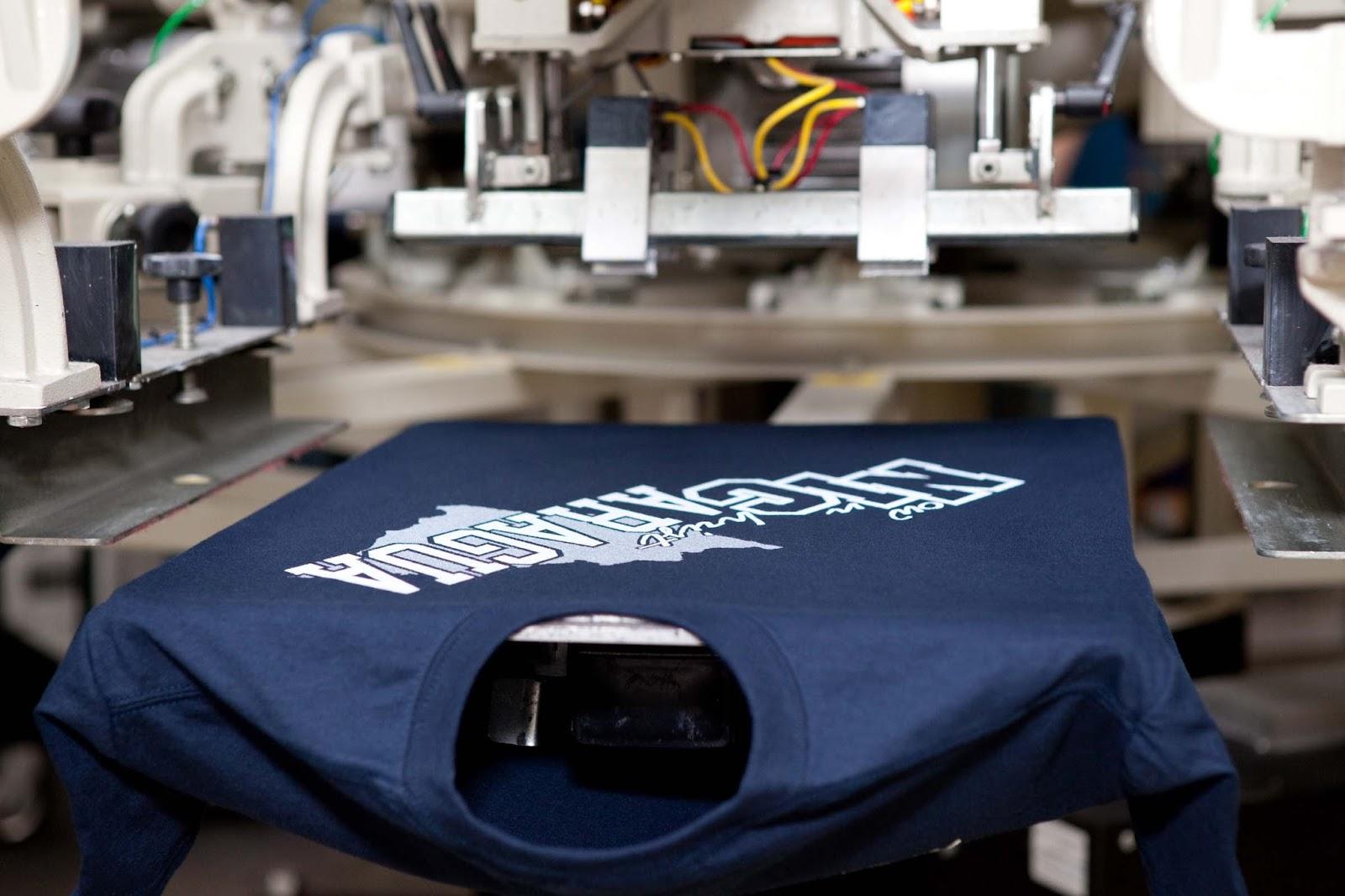 Трафаретная печать на текстиле