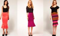 С чем носить юбку-годе: советы профессионалов