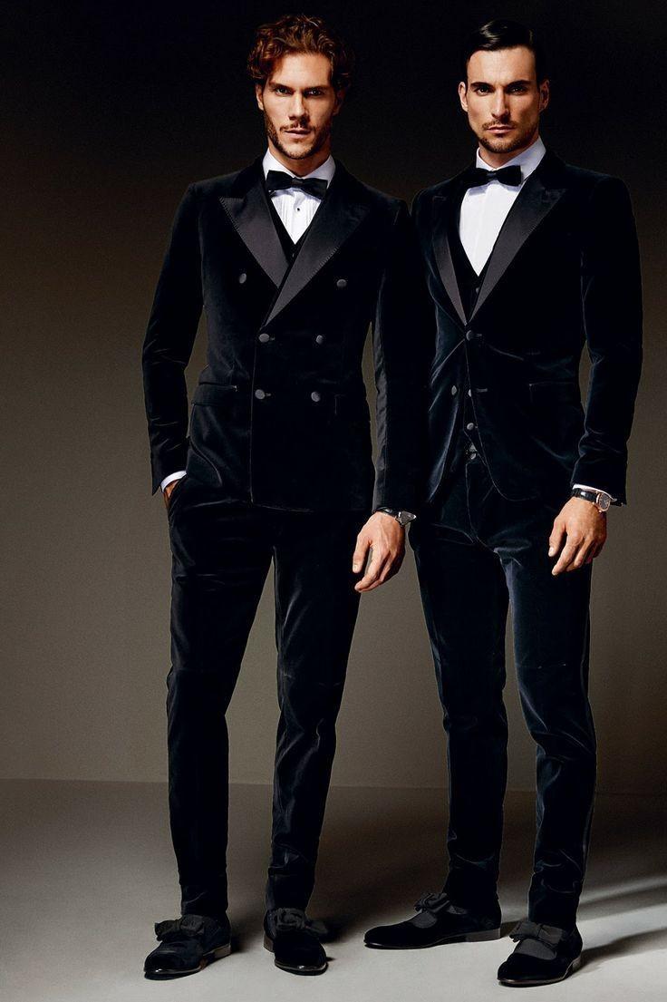 Бархатные мужские брюки