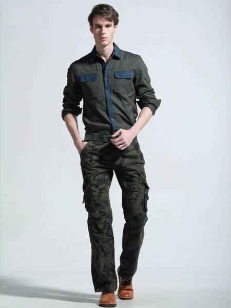 Мужские брюки милитари