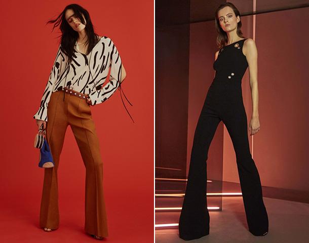 Модные брюки клеш 2018