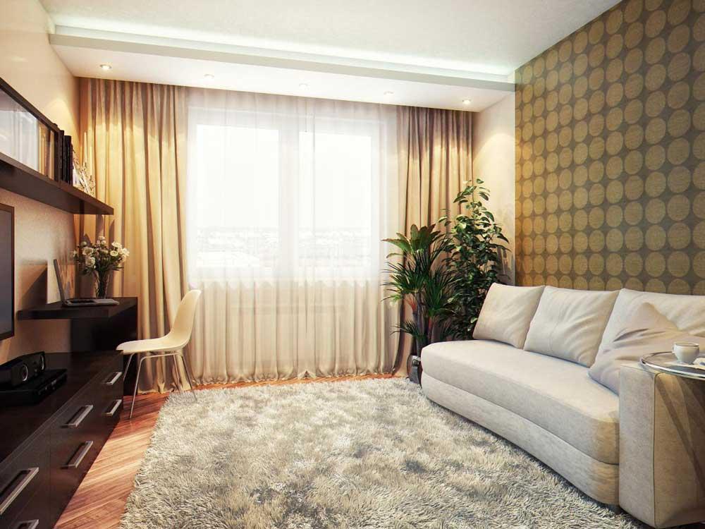 Дизайн штор для гостиных