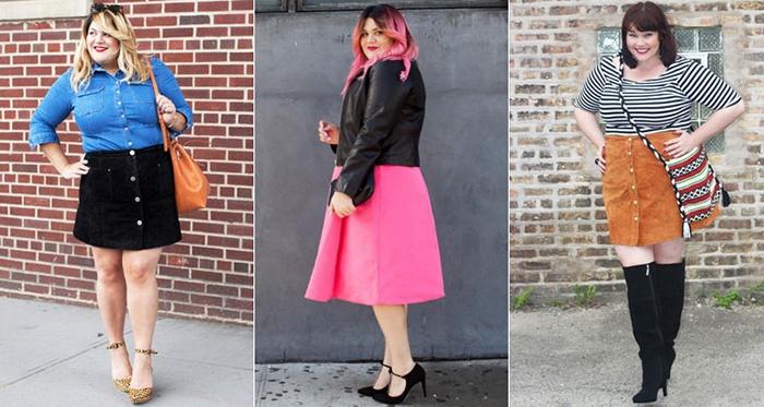 Гладкие юбки