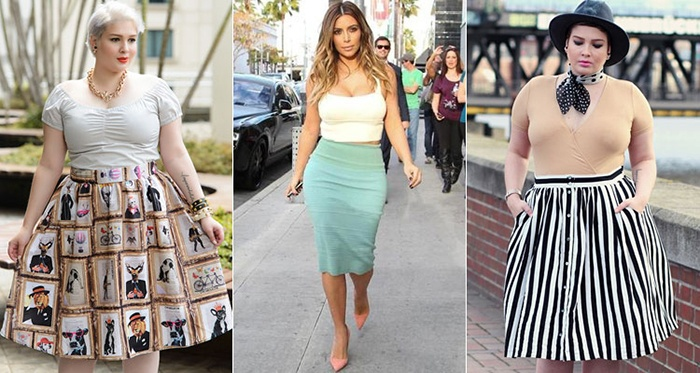 Яркие образы с юбками