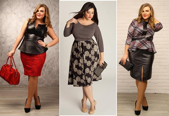 Модные образы с разными юбками