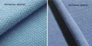 Ткани различаются между собой видом плетения нитей