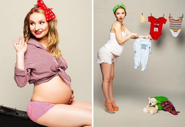 Пин-ап для беременных фото