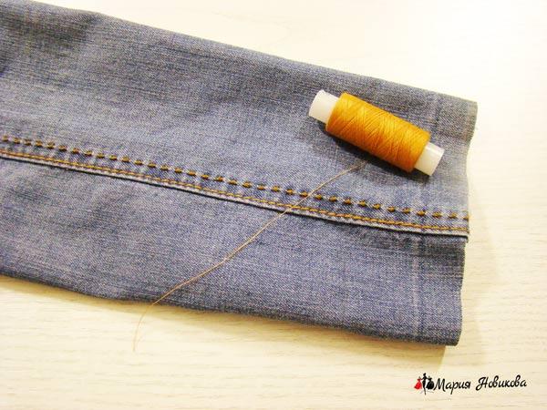 Подбираем нитки в цвет отделки