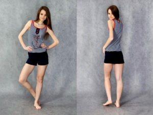 Одежда из кулирки