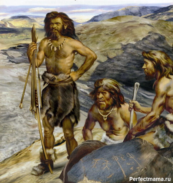 Одежда из шкур в древности