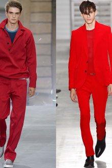 Красная мужская одежда
