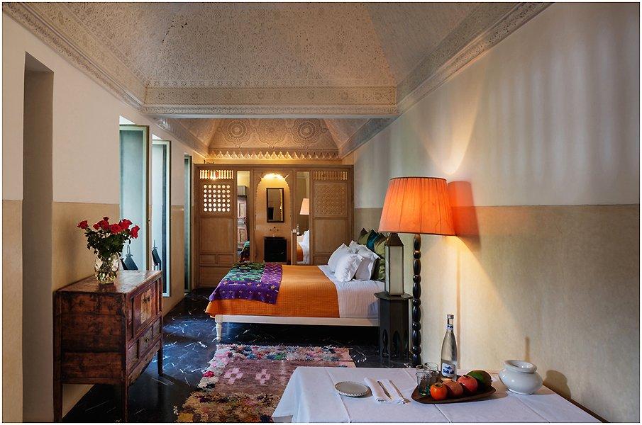 Завораживающий интерьер спальни в восточном стиле