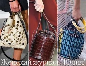 Модные тенденции сумок сезона весна-лето 2017 + фото