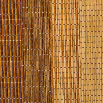Виды бамбуковых штор