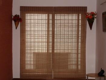 Раздвижные шторы из бамбука