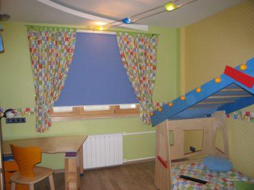Короткие шторы в детскую1