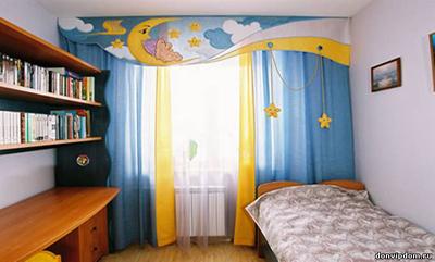 В детской комнате можно смело фантазировать!