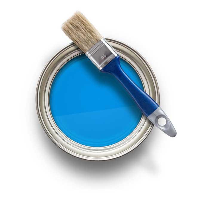 банка с краской