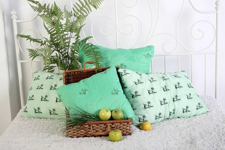 Подушка из бамбука: польза и недостатки
