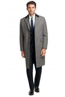 Классическое мужское серое пальто