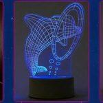 3D светильник иллюзия
