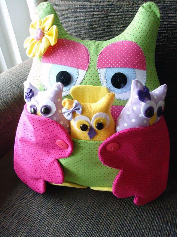 Детская декоративная подушка-игрушка