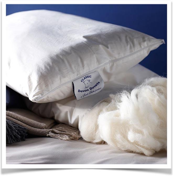Наполнитель для подушки шерсть овечья