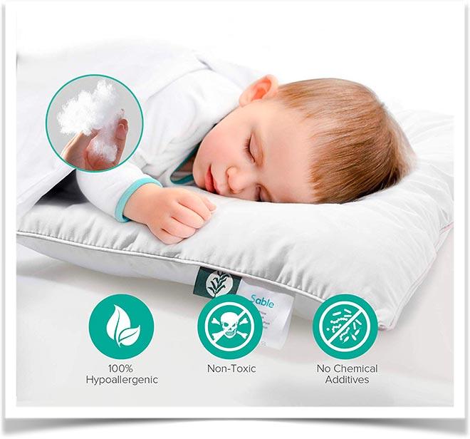 Атиаллегенная подушка для ребенка