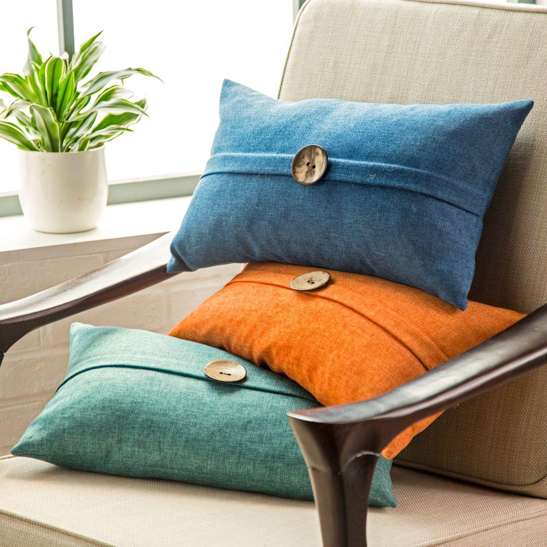 Декоративные подушки в стиле хай-тек