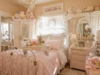 шебби шик в розовой спальне