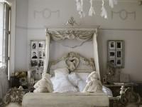 декорирование стен спальни с помощью фотографий